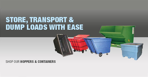 Store, Transport, and Dump Loads With Ease