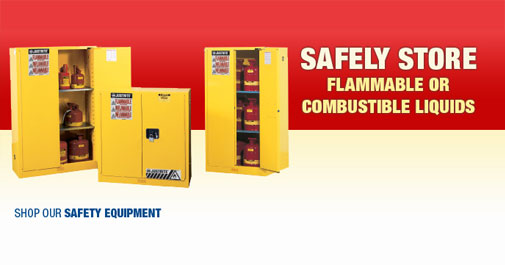 Safely Store Flammable Or Combustible Liquids