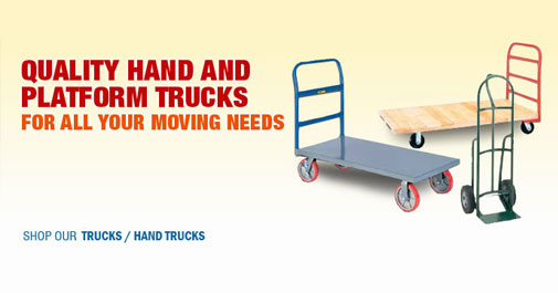 Quality Hand and Platform Trucks For All Your Moving Needs